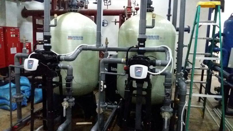Auto Water Softener Big Capacity